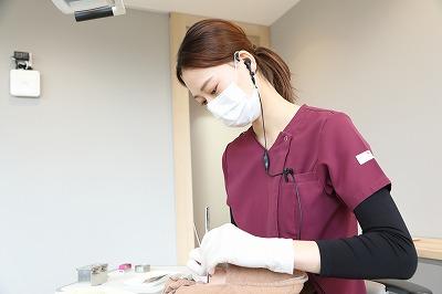 歯科医院での定期的なクリーニング