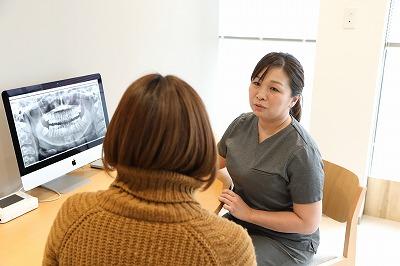 確定診断・治療計画の説明