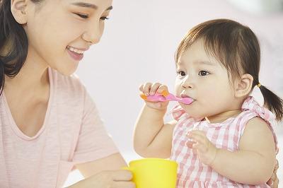 お子様の虫歯予防は、3歳までが勝負です。